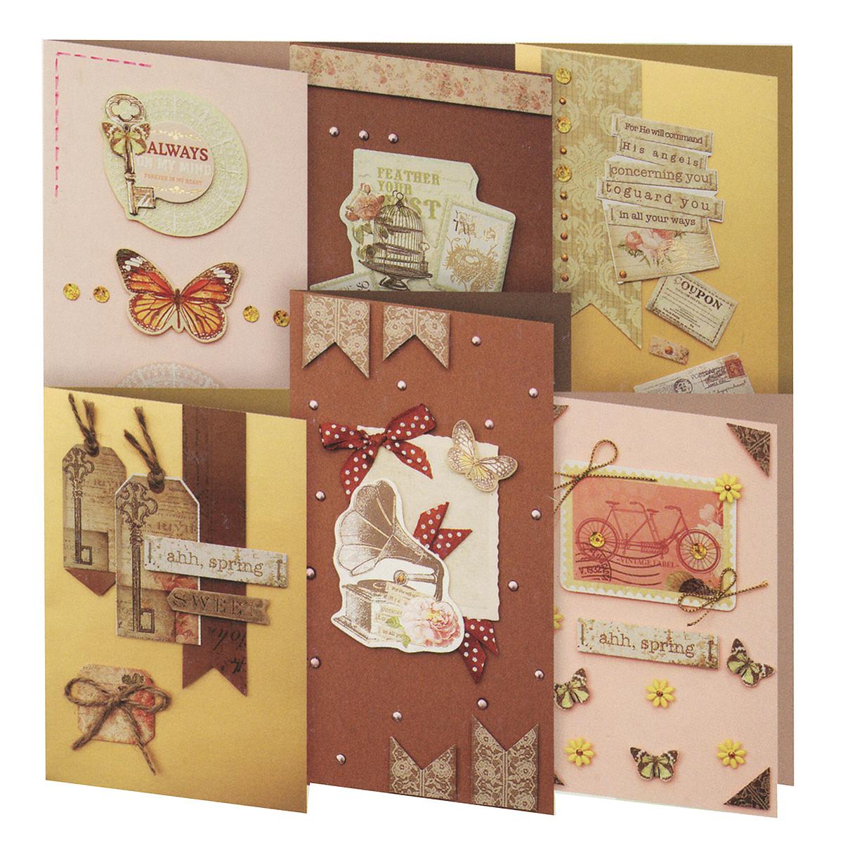 Февраля, набор детских открыток
