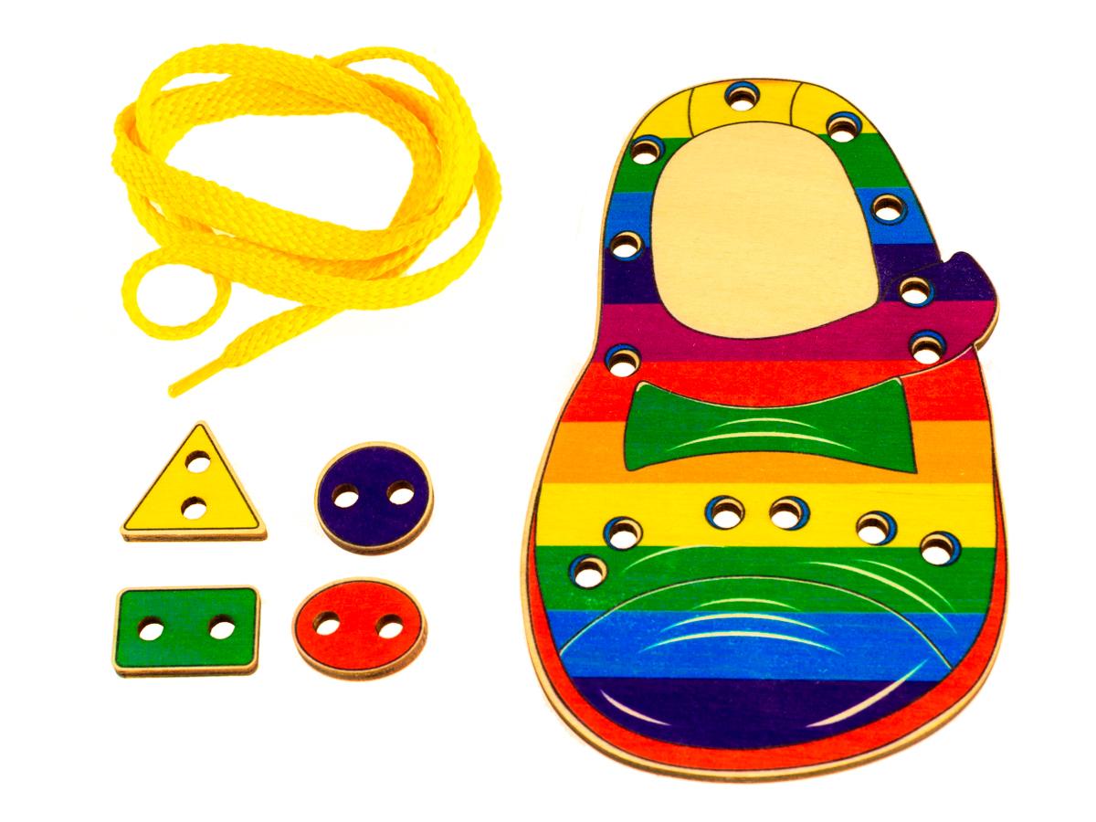 Шнуровка для детей своими руками шаблоны
